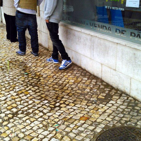 Rua António Nunes Sequeira - Antes