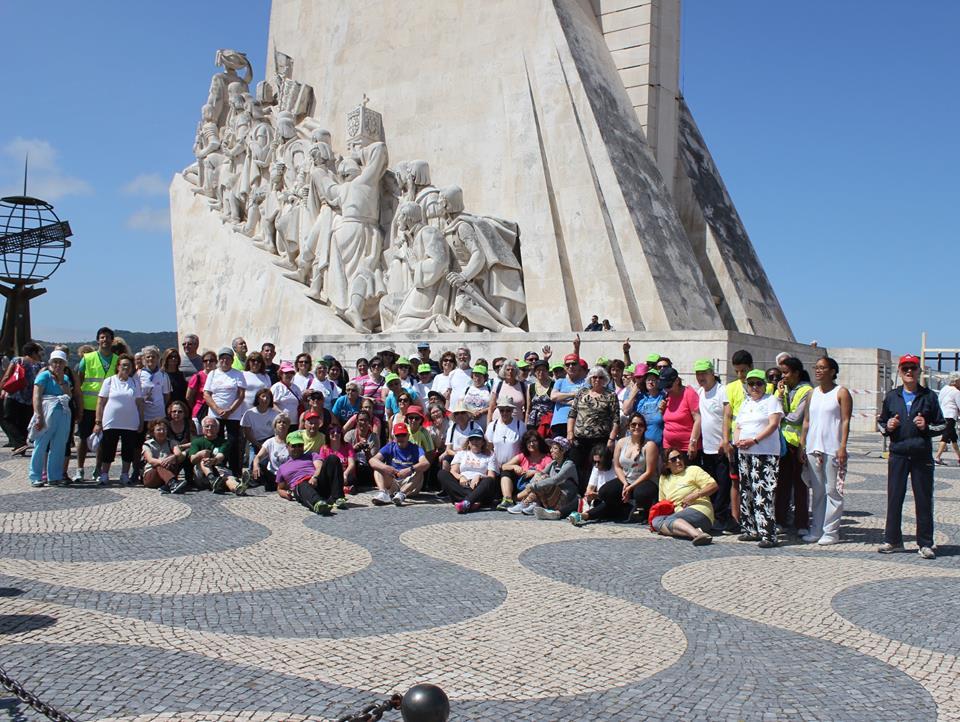 Caminhada em Lisboa