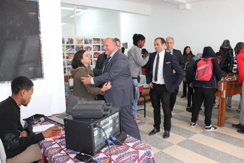 Inauguração da sede do Projeto Viv@Cidade
