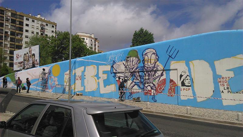 Graffiti 25 de Abril - 02