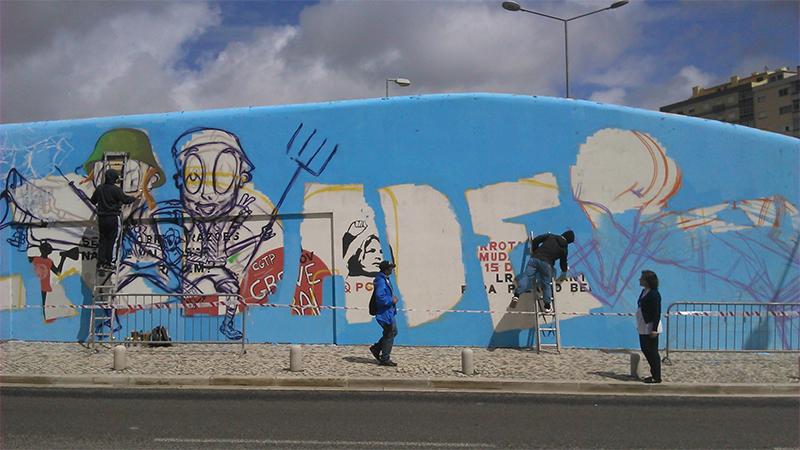 Graffiti 25 de Abril - 03