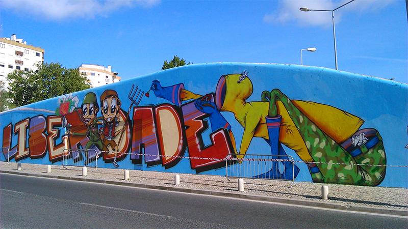 Graffiti 25 de Abril - 04