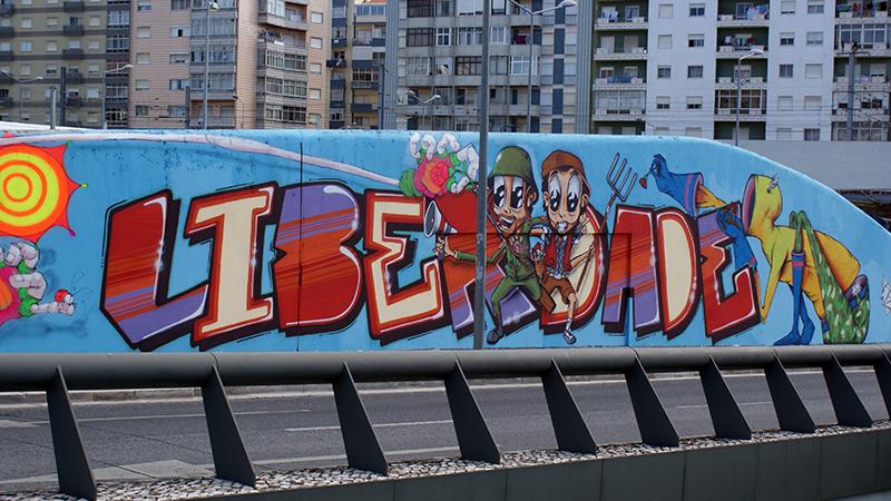 Graffiti 25 de Abril - 05