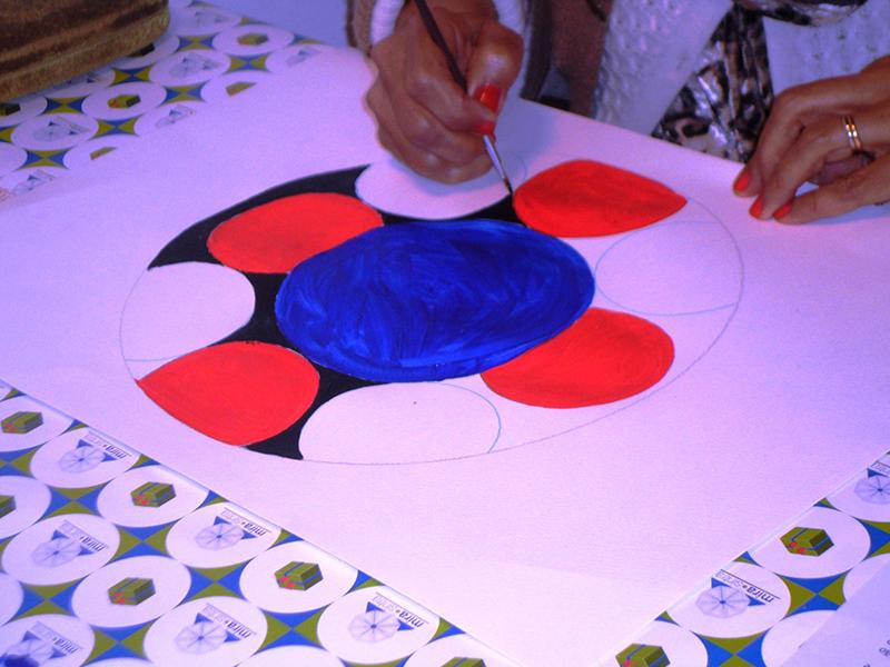 Pintura de Mandalas