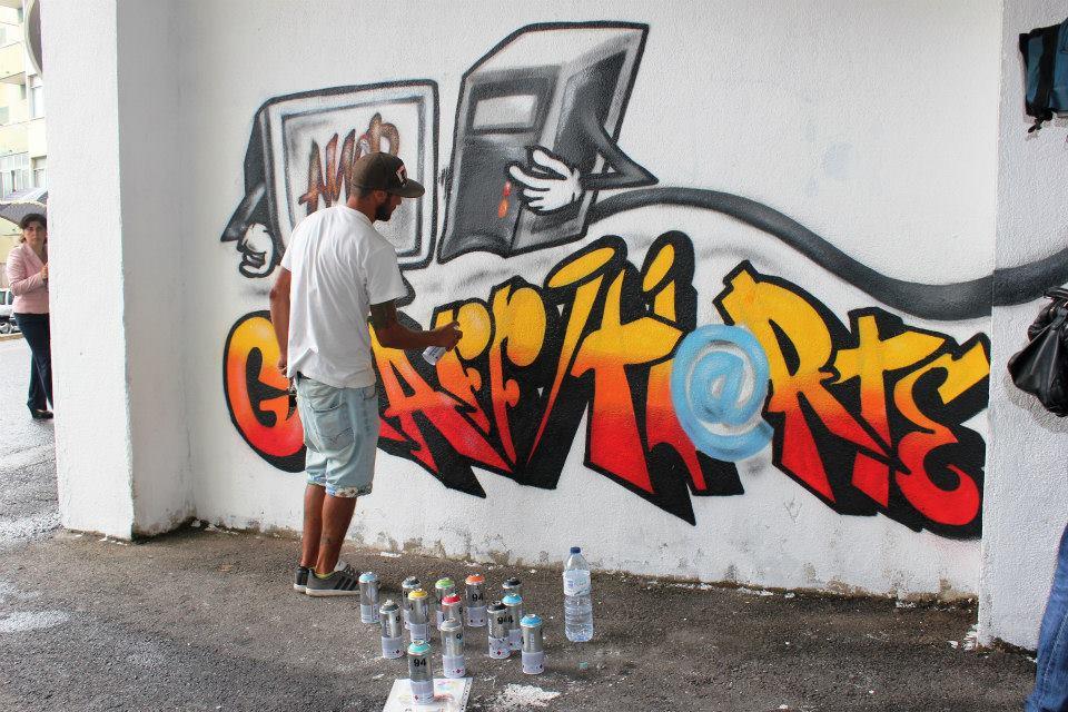 Graffitie é uma arte, vandalismo não faz parte!