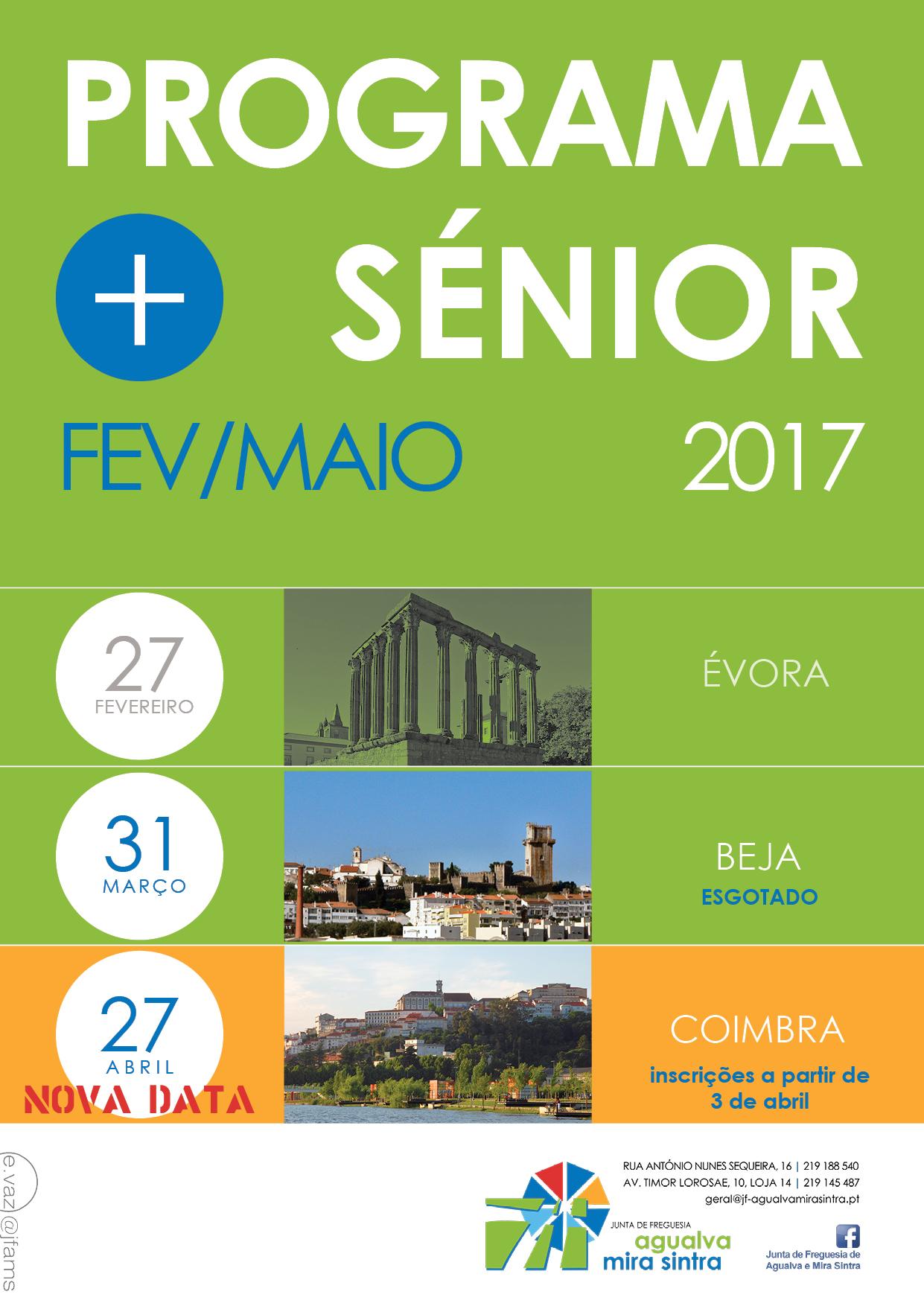 Programa + Sénior Fev/Maio 2017