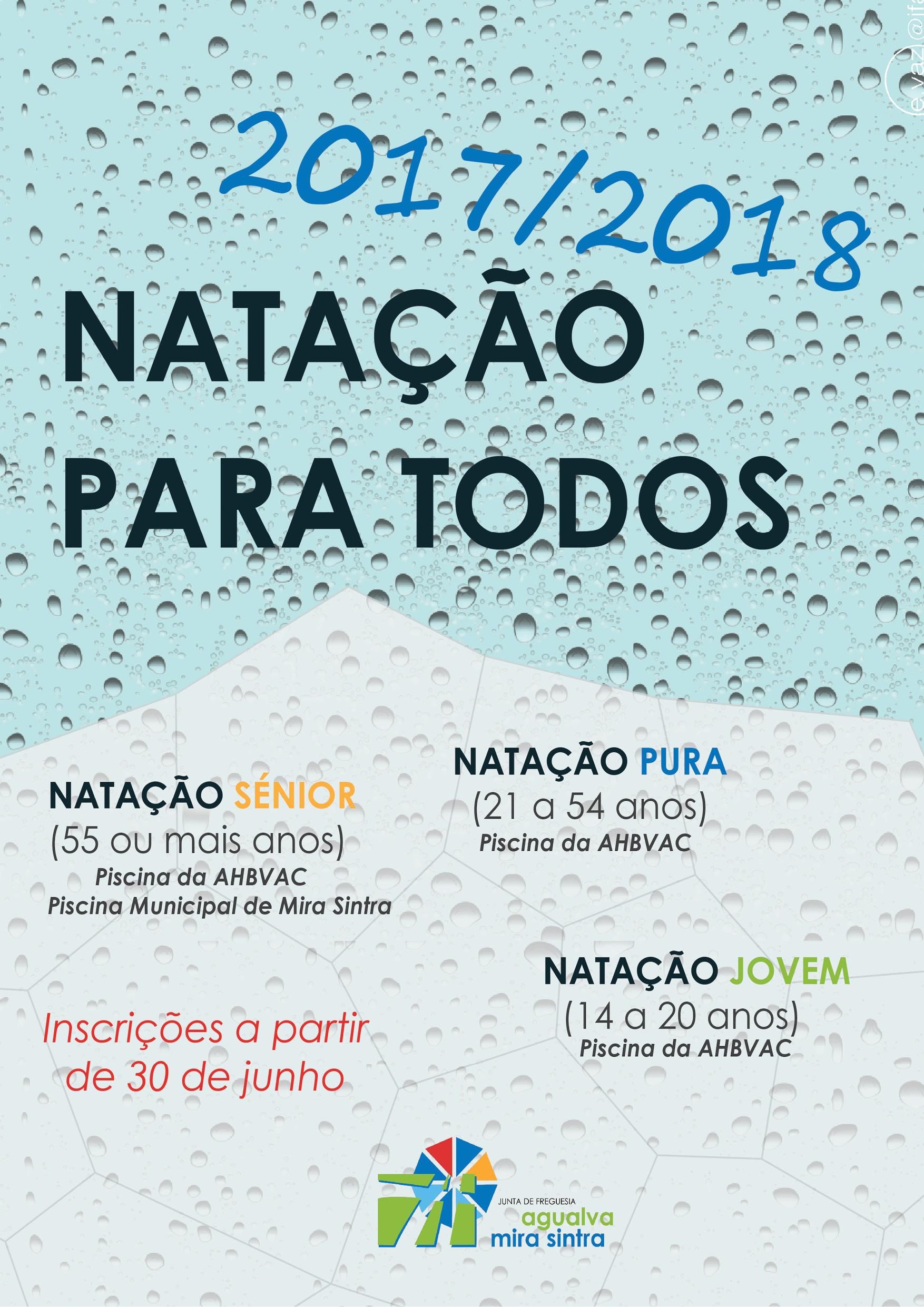Hidroginástica / Natação 2017-2018