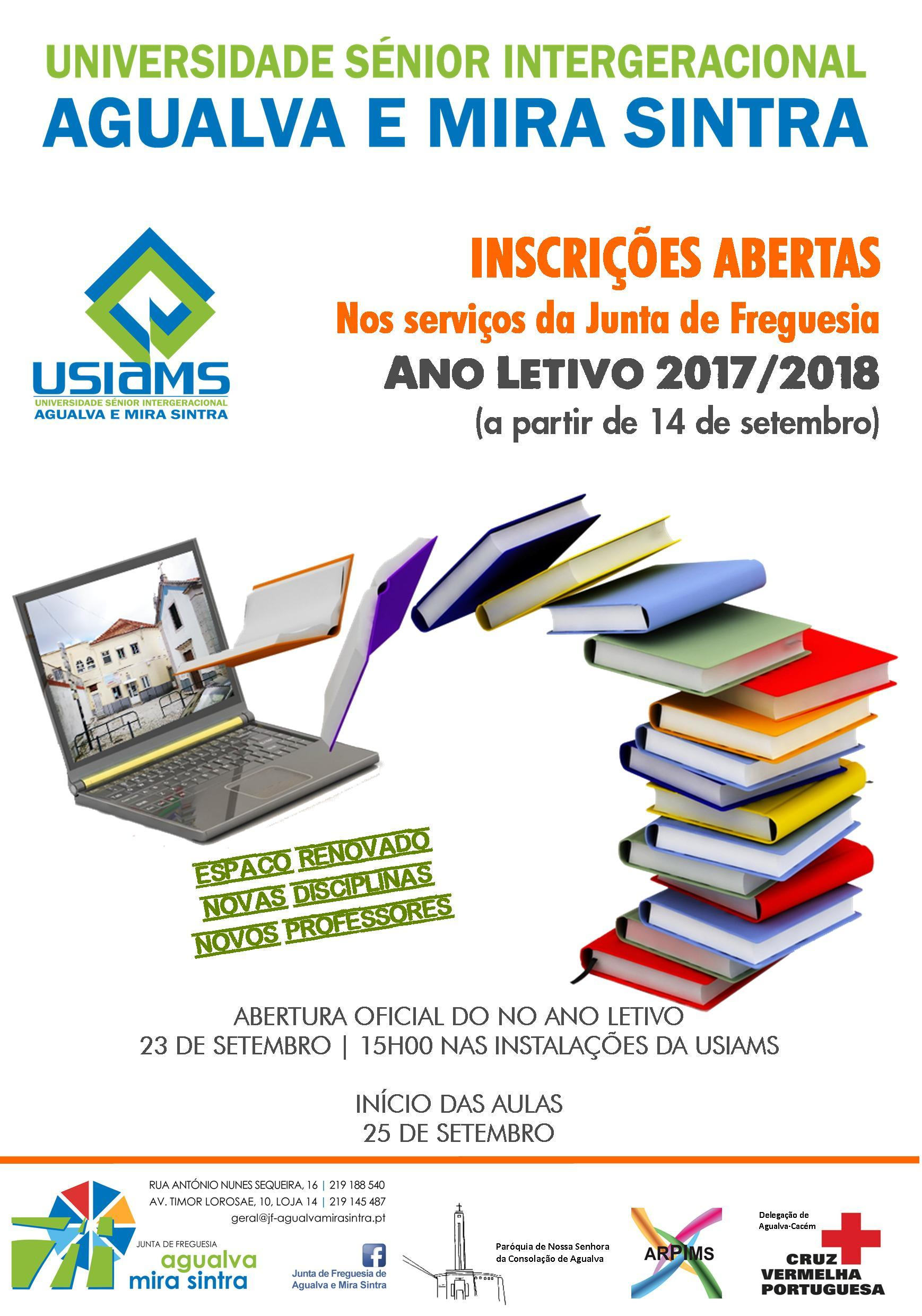 ANO LETIVO 2017/2018 | Universidade Sénior