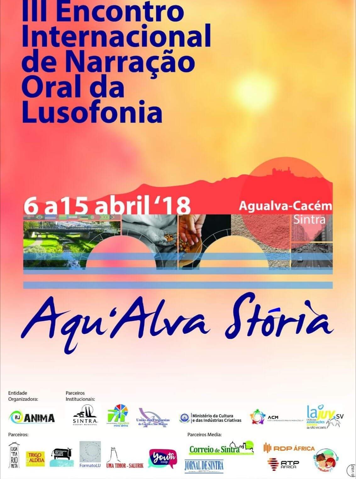 III Encontro Internacional de Narração Oral da Lusofonia - Aqu'Alva Stória