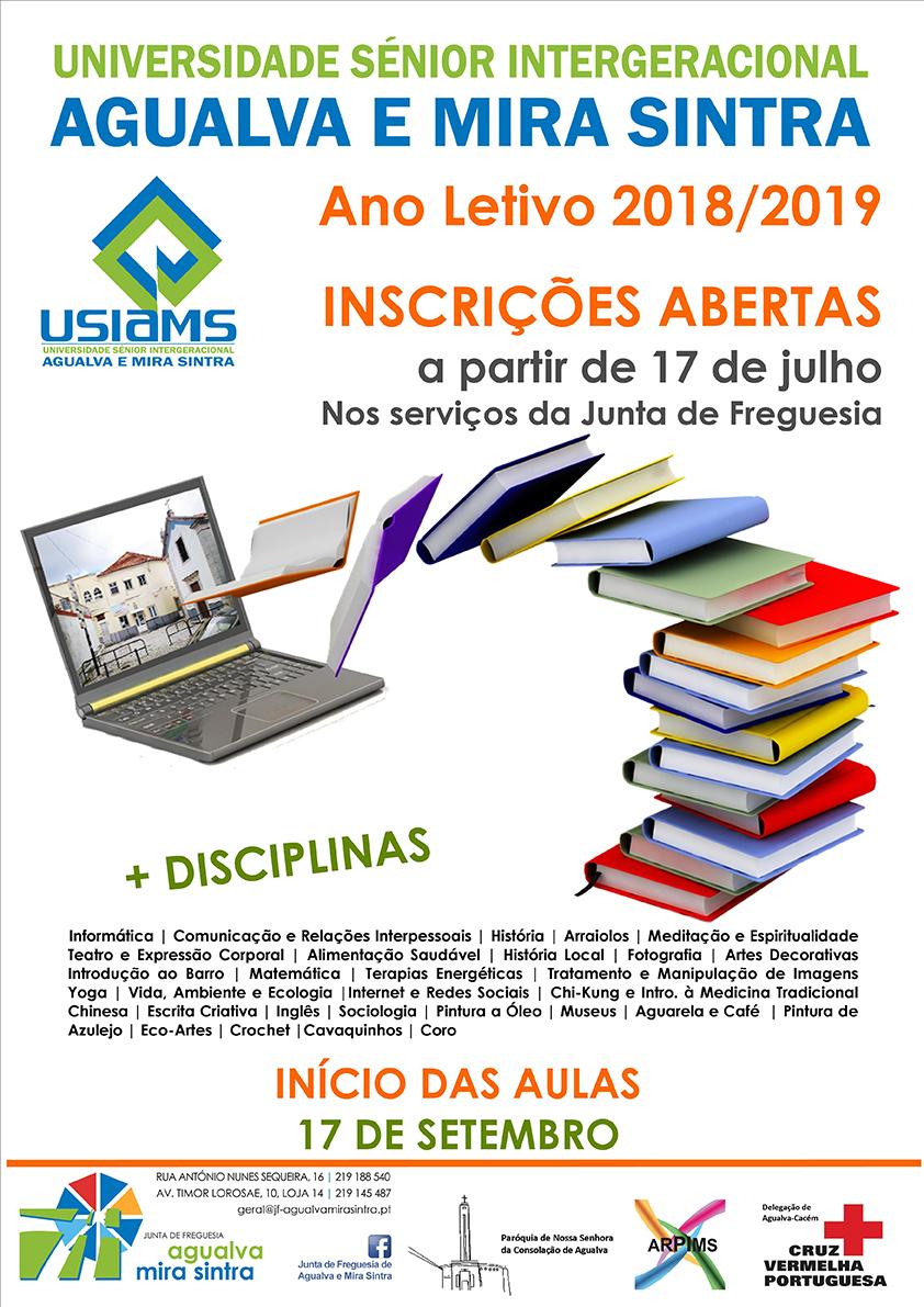 Ano letivo 2018/2019 USIAMS