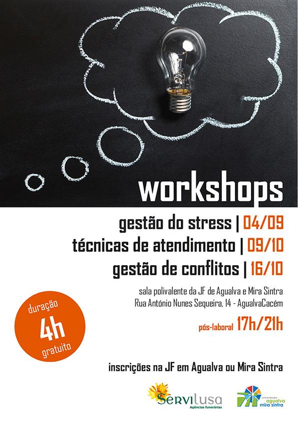 Workshops setembro e outubro