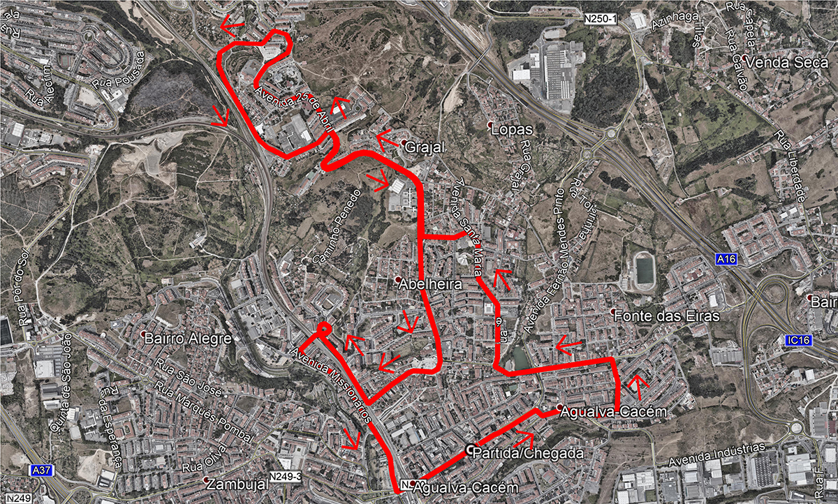 2º Grande Prémio de Agualva e Mira Sintra - Percurso 04