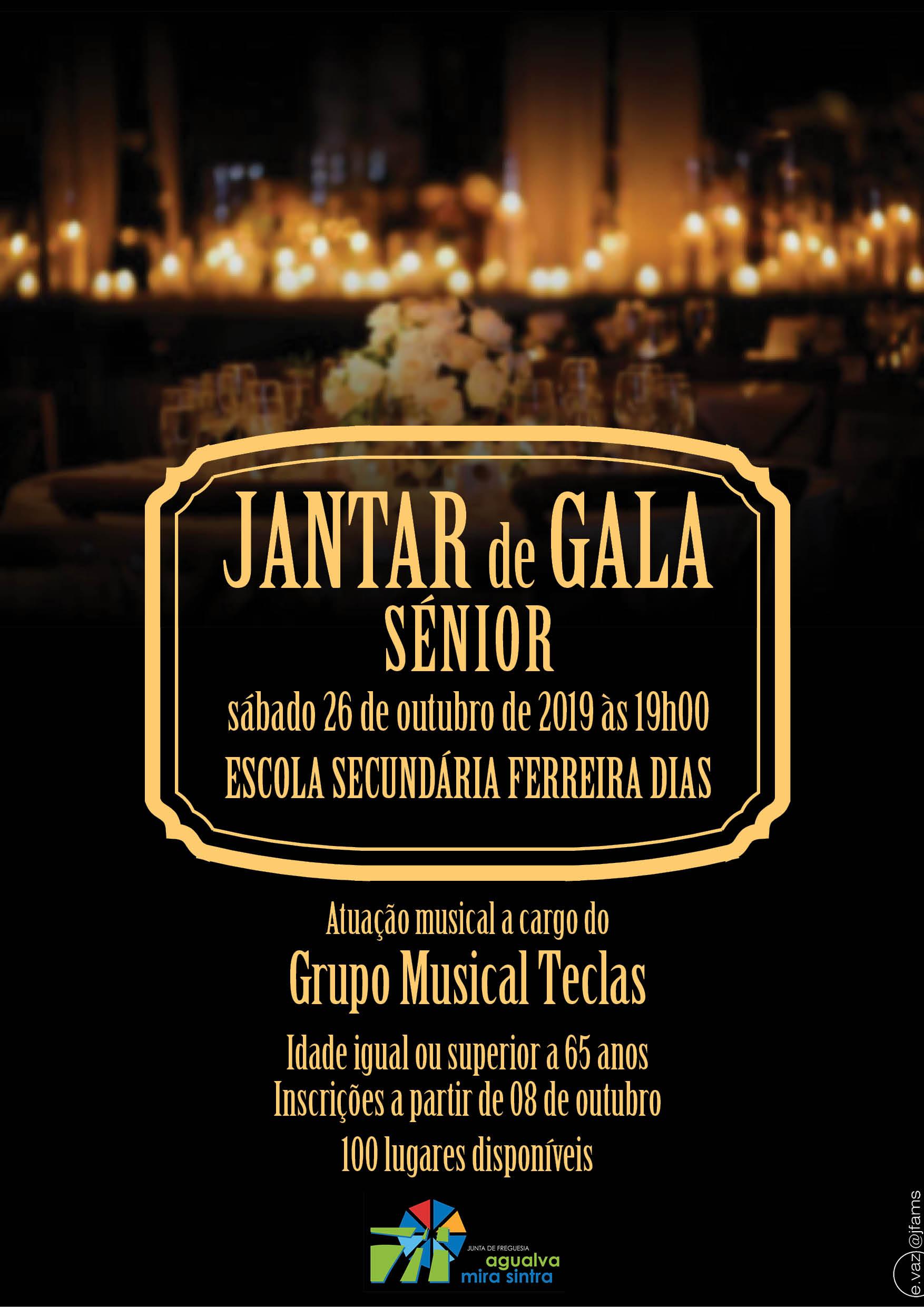 Jantar de Gala Sénior