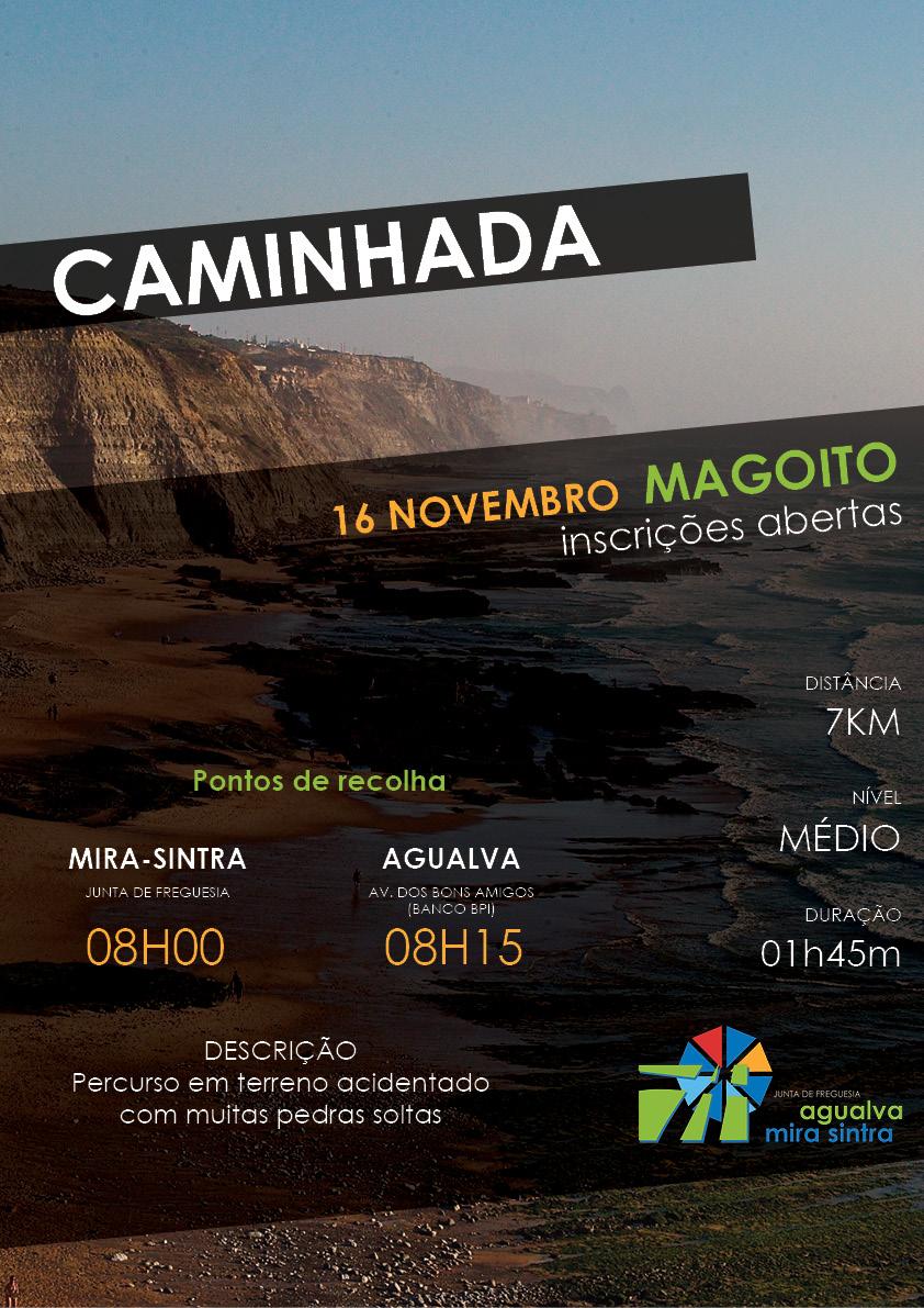 Caminhada Magoito, 16 novembro