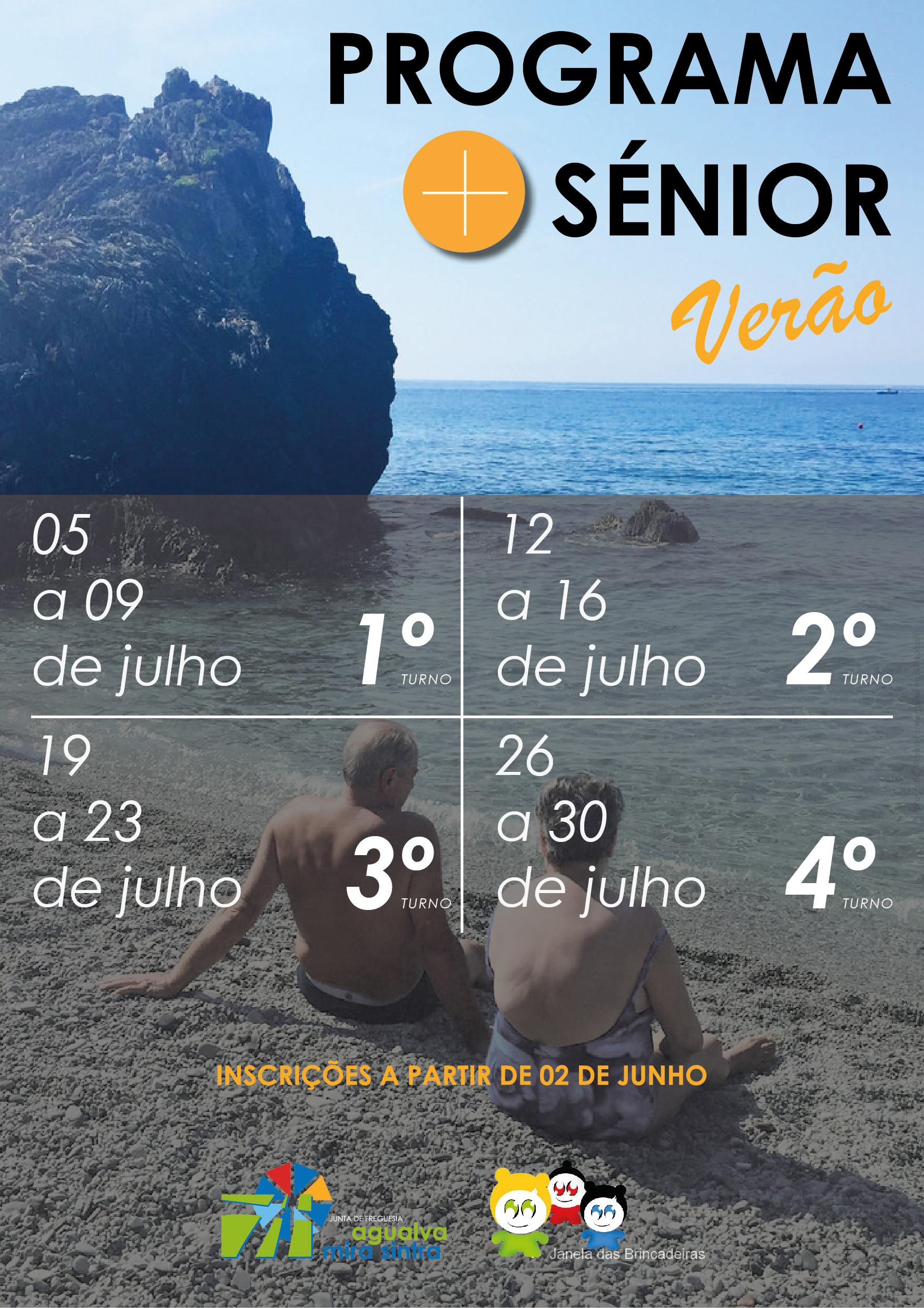 INFO | Programa +Sénior verão