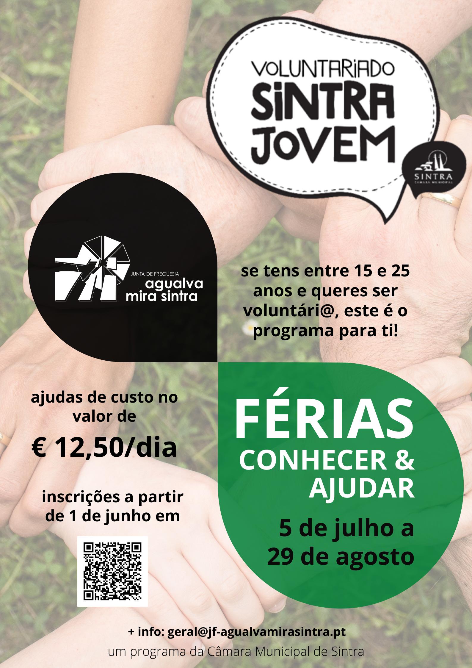 Férias Conhecer & Ajudar – Voluntariado Sintra Jovem Sintra